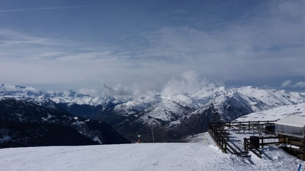 Baqueira beret view